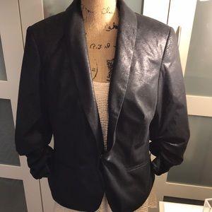 INC International Concepts Black Blazer